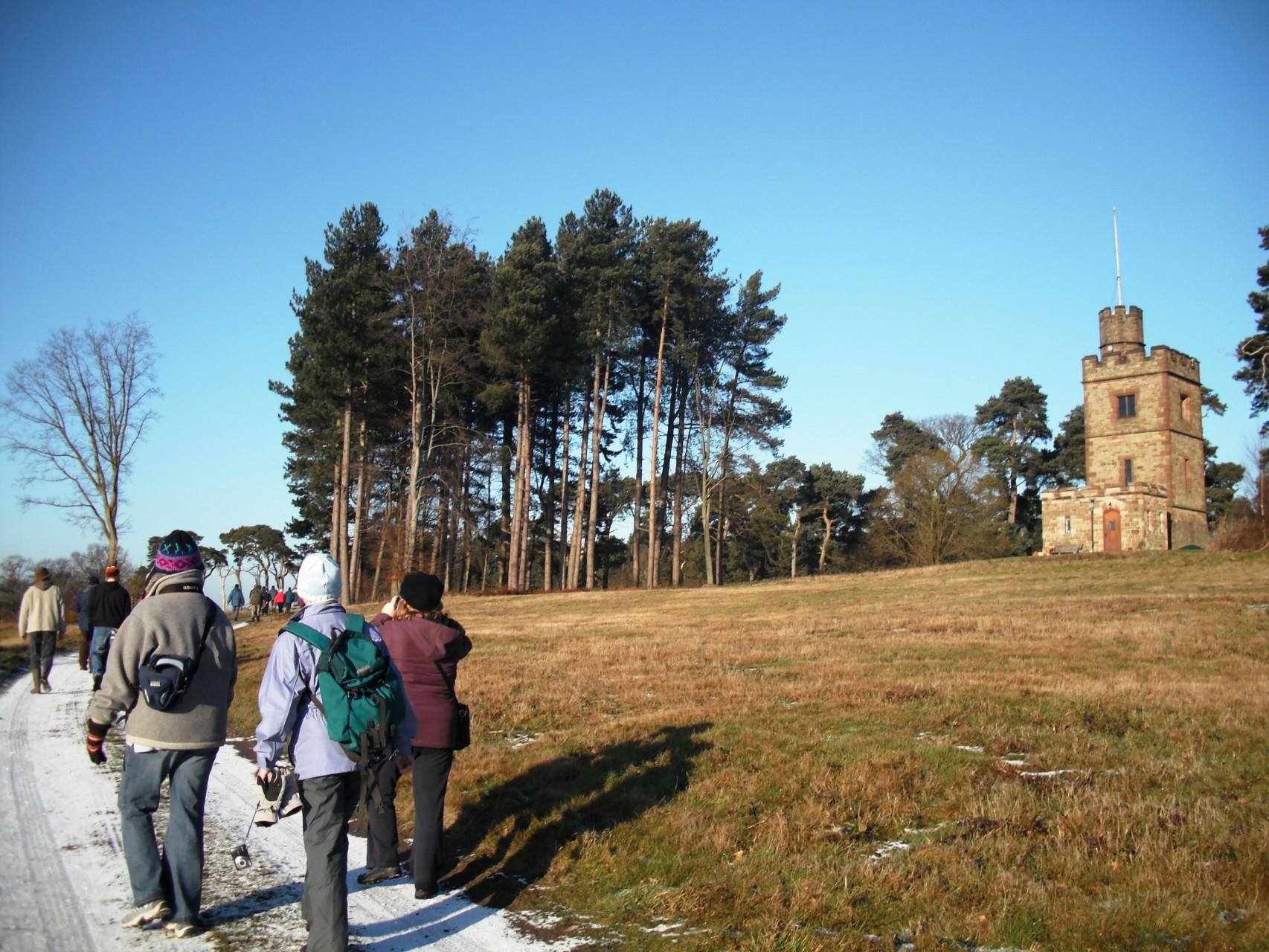 Knoll Tower at Weston Park