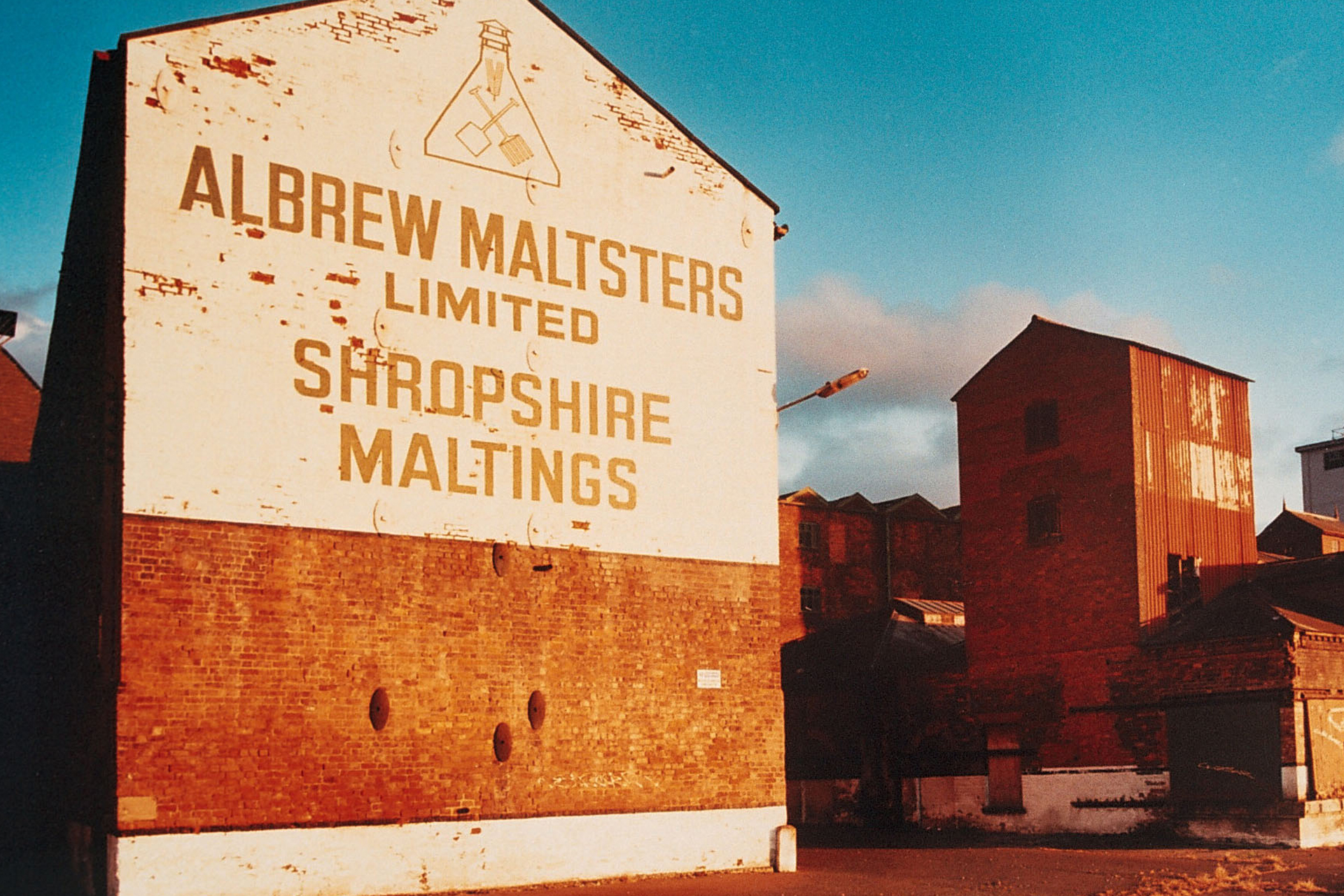 Flax Mill Maltings, Shrewsbury