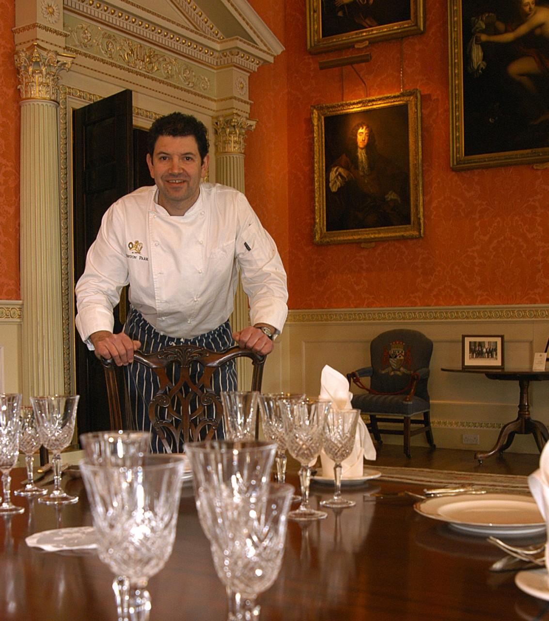 Guy Day, head chef at Weston Park