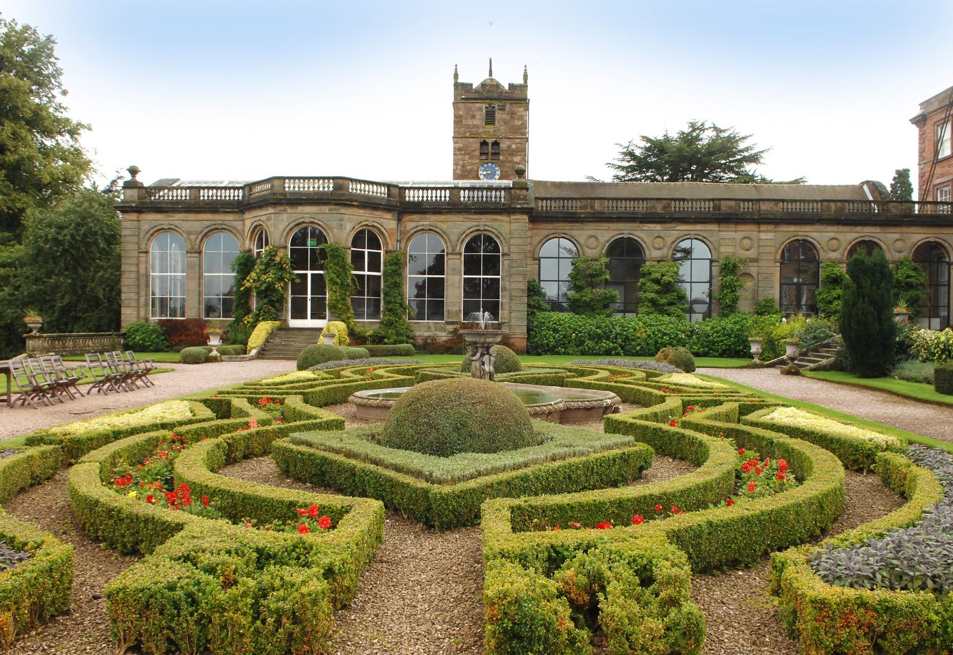 Italian Gardens at Weston Park